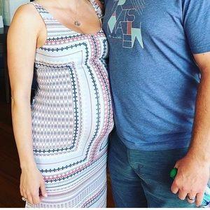 Tart Maternity Maxi  Dress - Sz S EUC